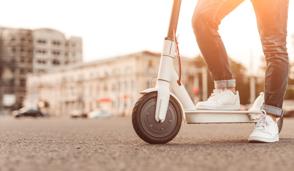 elektrische step 25 km per uur